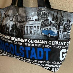 Robin Ruth Germany Large Canvas Bag